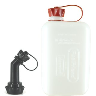 FuelFriend® BIG CLEAR max. 2,0 liter with lockable spout