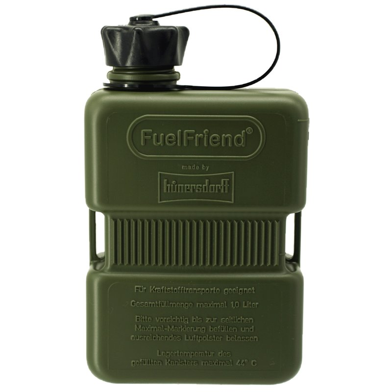3x FuelFriend®-PLUS CLEAR 1 Liter Benzinkanister Reservekanister Füllrohr-Set