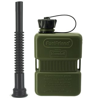 FuelFriend® PLUS 1,0 liter OLIVE - Limited Edition - with flexible spout