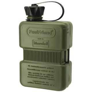FuelFriend® PLUS 1,0 liter OLIVE with lockable spout