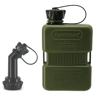 FuelFriend® PLUS 1,0 liter OLIVE - Limited Edition - with lockable spout