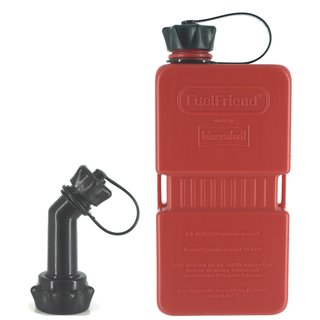 FuelFriend®-PLUS EXTRA STRONG RED - Limited Edition - with lockable spout